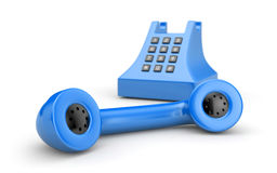 Incoming call. Retro telephone. More phones in my gallery Stock Image
