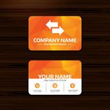 Incoming, outgoing calls sign. Upload. Download. Royalty Free Stock Images