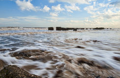 Incoming Tide Royalty Free Stock Images