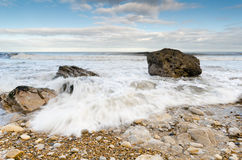 Incoming tide Royalty Free Stock Image