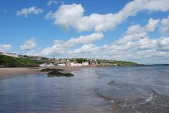 Incoming Tide at Kinghorn Stock Photos