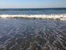 Incoming tide royalty free stock photography