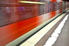 Incoming Train Stock Photo