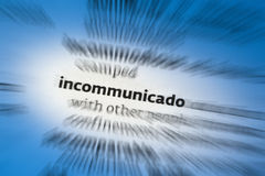 Incommunicado Stock Photos