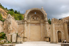 Incomplete church of Cazorla. Stock Image