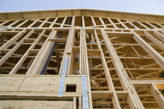 Incomplete House Under Construction Royalty Free Stock Image