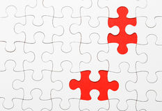 Incomplete puzzle Royalty Free Stock Photography