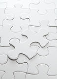 Incomplete puzzle Royalty Free Stock Images