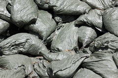 Incomplete Sandbags Royalty Free Stock Photos