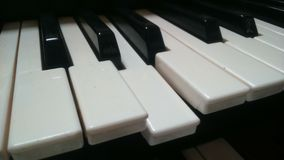 Incompleted piano key Royalty Free Stock Photo