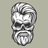 Inconformista carismático del cráneo Estilo de la vendimia Fotografía de archivo libre de regalías