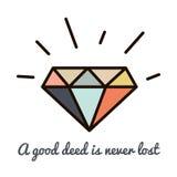 Inconformista de los diamantes Imagenes de archivo