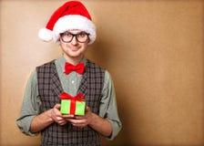 Inconformista en Santa Claus Foto de archivo