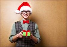 Inconformista en Santa Claus Imagenes de archivo