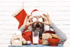 Inconformista Santa Claus Fotografía de archivo