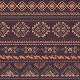 Inconsútil étnico del vintage tribal Imágenes de archivo libres de regalías