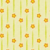 Inconsútil abstracto de las flores Imagen de archivo libre de regalías
