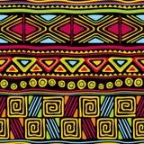 Inconsútil africano ilustración del vector