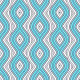 Inconsútil azul de la onda Fondo Ilustración del Vector