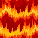 Inconsútil con el fuego libre illustration