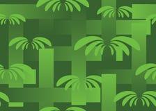 Inconsútil con tema verde Fotos de archivo