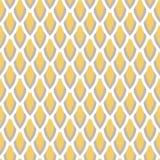 Inconsútil geométrico del vector amarillo y de color topo de la mostaza Fotos de archivo libres de regalías