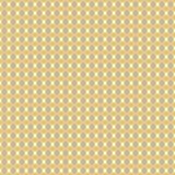 Inconsútil geométrico del vector amarillo y de color topo de la mostaza Fotografía de archivo libre de regalías