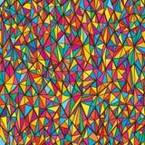 Inconsútil horiontal colorido agudo stock de ilustración