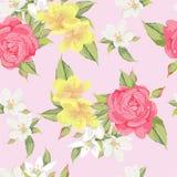 Inconsútil rosado Fotografía de archivo libre de regalías