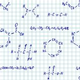 Inconsútil vector pettern - química libre illustration