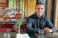 Incontrimi al ristorante immagine stock libera da diritti