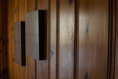 Incorniciatura di legno fotografie stock libere da diritti