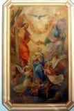 Incoronazione del Virgin Mary Fotografia Stock
