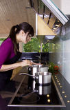 Incorporer la casserole Photo libre de droits