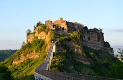 Incrível Civita di Bagnoregio, Itália Fotografia de Stock