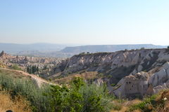 Increíblemente paisaje en Turquía media foto de archivo libre de regalías
