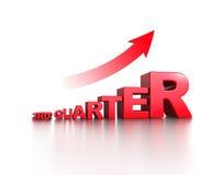 Increase bar graph Royalty Free Stock Image