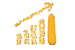 Increase corn Stock Image