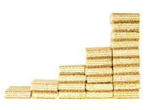 Increase graph wafer Royalty Free Stock Photography