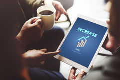 Increase Growth Rise Elevation Enlarge Expansion Concept Royalty Free Stock Images