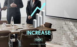 Increase Growth Rise Elevation Enlarge Expansion Concept Stock Photography