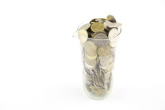 Increase your savings. Money in safety Royalty Free Stock Photos