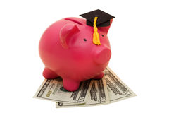 Increased Education Costs Stock Photos