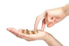 Increasing earnings Royalty Free Stock Photos