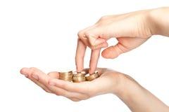 Increasing earnings Stock Images