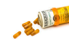 Increasing health care costs Royalty Free Stock Images