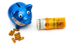 Increasing health care costs Royalty Free Stock Photography