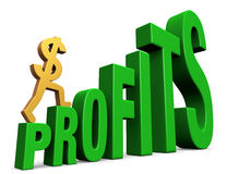 Increasing Profits Royalty Free Stock Photography