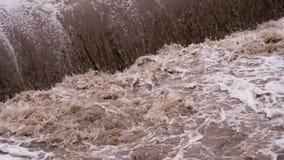 Increasing Water stock video footage