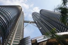 Higher buildings. Asia Architecture. Building Set. Incredible architecture. Modern architecture in Southeast Asia, Malaysia. Building set Stock Images